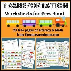transportation math worksheets preschool 15212 45 rainy day activities serenity you