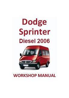 how to download repair manuals 2006 dodge sprinter on board diagnostic system 2006 sprinter van owners manual shoegett