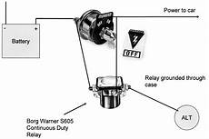 Wire Size 100 Alternator Moparts Question And Answer