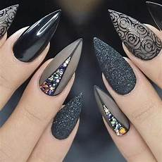 gothic nails 40 stunning gothic nail art designs