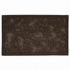 6 Ft Door Mat by Mohawk Home Monaco Leaves 1 Ft 6 In X 2 Ft 6 In Door
