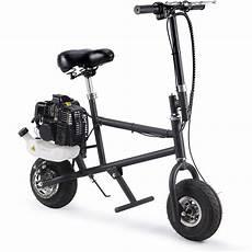 mototec 49cc gas 2 stroke mini bike black 852320007760