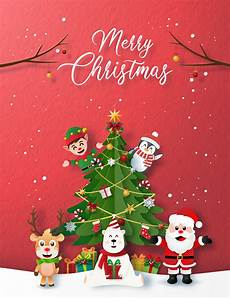 picture of merry christmas card paper style merry christmas card download free vectors clipart graphics vector art