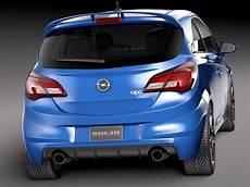 Opel Corsa 2016 - opel corsa opc 2016 3d model max obj 3ds fbx c4d lwo