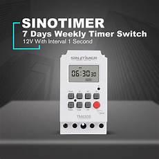 Sinotimer Tm630s 110v Digital Programmable Timer by Sinotimer Tm630s 4 12vdc Lcd Digital Programmable Timer