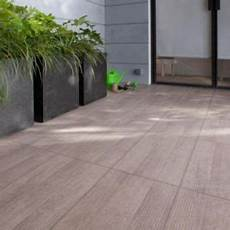 Carrelage Terrasse Taupe 31 X 61 8 Cm Colours Vieste
