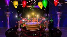 Bild Happy Birthday - happy birthday cake presentation animation