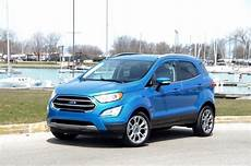 2018 Ford Ecosport Subcompact Ute Review By Larry Nutson