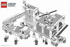 lego city coloring pages building construction free
