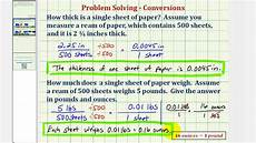 weight of a4 sheet ex determine the thickness and weight of a piece of paper youtube