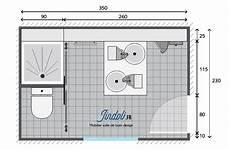 exemple plan de salle de bain de 9m2 plans pour grandes