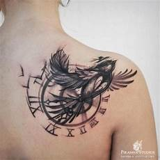 graceful bird and clock bird sleeves