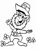 Leprechaun Coloring Pages 10  St Patricks Day