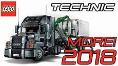 lego neuheiten 2018 new 2018 lego technic mack truck set 42078 official