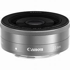 canon ef m canon ef m 22mm f 2 stm lens silver 9808b002 b h photo