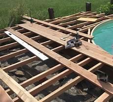 Poolumrandung Holz Selber Bauen Mit Pool Bild Das Sieht