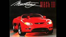 ford mustang mach 3 concept photo