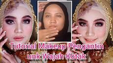 Tutorial Makeup Pengantin Untuk Wajah Kotak Pangling