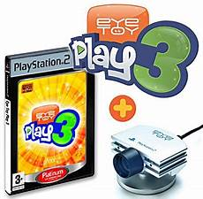 Eyetoy Play 3 Ps2 Jeu Occasion Pas Cher
