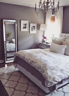 Grey Bedroom Soft Soothing Purple Tint Remodel Bedroom