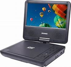 Dvd Player Tragbar - sylvania 7 quot portable dvd player with swivel screen black
