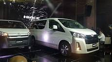 toyota hiace 2019 2019 toyota hiace engines specs features