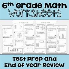 science review worksheets 6th grade 12383 end of year review for 6th grade math worksheets by cantonwine