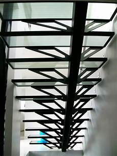 marche en verre escalier marches en verre sur mesure