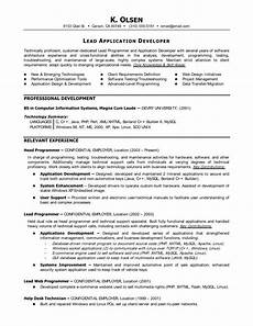 computer programmer resume sle ipasphoto