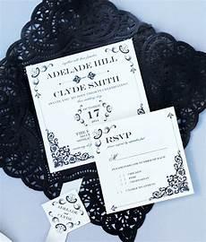vintage iron lace square invitation template download print