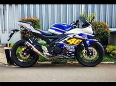 Yamaha R15 Modif Keren by Yamaha R15 Modifikasi Indonesia Murah Tapi Tetap Keren