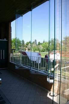 chiusura verande pareti in vetro sistemi ad impacchettamento vetreria a