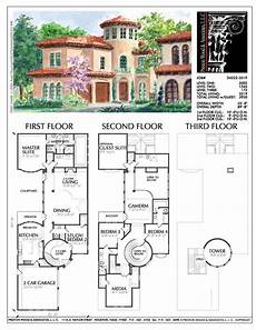 2 story mediterranean house plans 2 1 2 story urban home plan d4222 family house plans