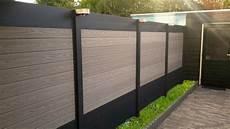 Palissade En Alu Palissade En Bois Composite Et Aluminium Ideal Penmie Bee