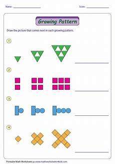 repeating patterns worksheets grade 2 233 growing pattern type 2 year 2 maths math patterns 2nd grade math grade math