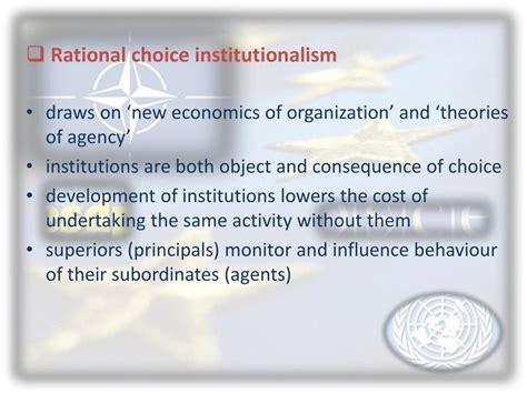 Institutionalism