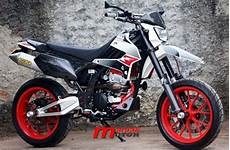 Modifikasi Klx 250 by Modifikasi Kawasaki Klx 250 Supermoto Punya Portal