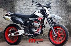 Klx 250 Modifikasi by Modifikasi Kawasaki Klx 250 Supermoto Punya Portal