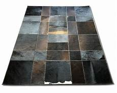 kuhfell patchwork teppich 160 x 200 cm etnodesign se