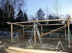wir bauen einen pferdestall grundkonstruktion im