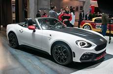 2017 Fiat 124 Spider Elaborazione Abarth Drops Top In New