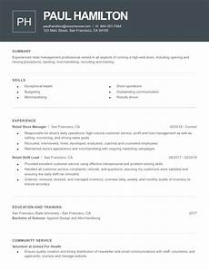 2020 s best resume templates by category resume now