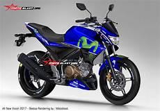Modifikasi Motor Vixion 2017 by Dongkrak Tilan Newcb150r Dan Vixion Mu Dengan