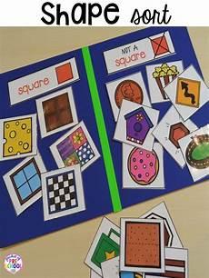 sorting activities for preschoolers worksheets 7872 2d shape activities for preschool pre k and kindergarten 2d shapes activities shape