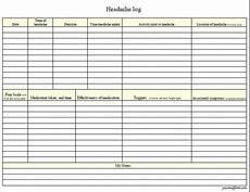 headache log sheet fillable digital headache log pdf digital health forms
