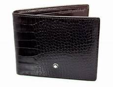 mont blanc card wallet ebay