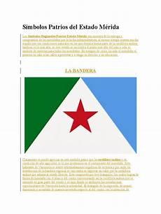 simbolo naturales del estado merida s 237 mbolos patrios del estado m 233 rida carnaval toreo