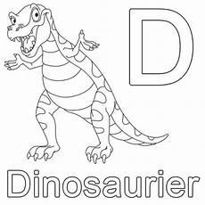 Schule Und Familie Ausmalbilder Buchstaben Kostenlose Malvorlage Buchstaben Lernen D Wie Dinosaurier