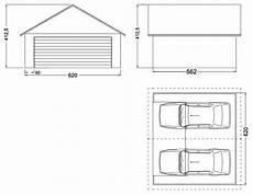 longueur garage 2 voitures garage m 233 tallique 2 pentes cr 233 pis 2 voitures porte large