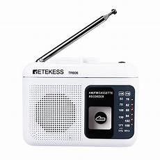 Retekess Portable Radio With Cassette Playback retekess tr 606 fm am portable radio with cassette